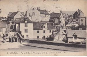VANNES , France , PU-1910 : Vue de la Porte-Poterne prise de la Garenne vers ...