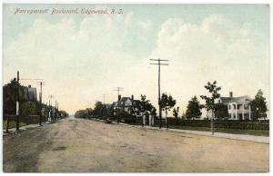 Edgewood, Rhode Island,  Early View Along Narragansett Boulevard