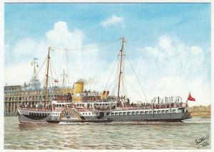 Passenger Ship Series, PS Royal Eagle, Built 1932 PPC, Unused, Ian H Boyd