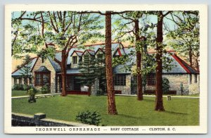 Clinton South Carolina~Thornwell Orphanage~Louise Mayes Baby Cottage~1944 Linen