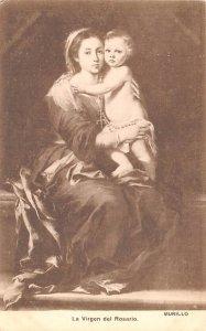 La Virgen del Rosario Murillo Spain Unused