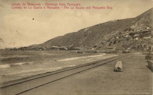 venezuela, MAIQUETIA, Camino de La Guaira (1910s)