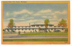 Service Club, Fort Custer, Michigan, 1930-1940s
