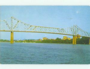 Pre-1980 BRIDGE SCENE Huntington West Virginia WV HJ0733