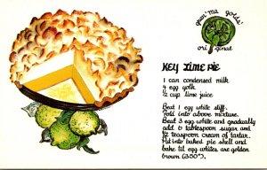 Florida Keys Gran'ma Golds' Original Key Lime Pie Recipe