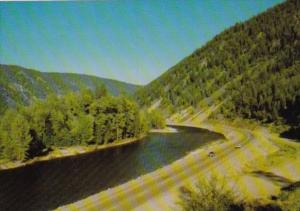 Canada Similkameen River Highway 3 British Columbia