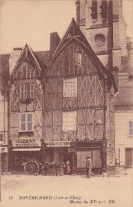 MONTRICHARD, Maison du XV siecle, Loir et Cher, France, 00-10s