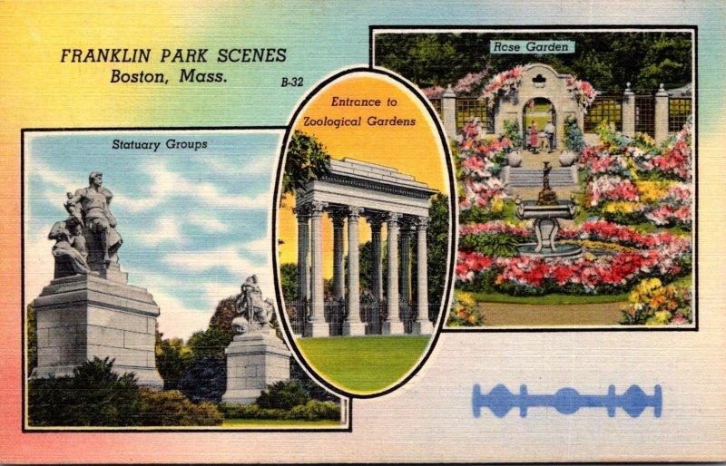 Massachusetts Boston Franklin Park Scenes