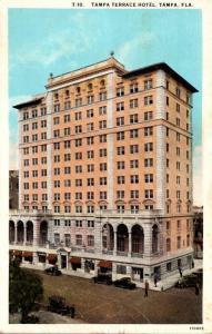 Florida Tampa The Tampa Terrace Hotel 1932 Curteich