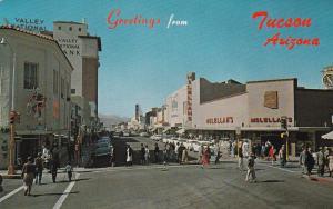TUCSON, Arizona, 40-60s; Valley National Bank, Drug/Pharmacy Store, McLellan's