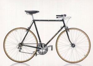 Austro Daimler Vent Noir Mens Austrian Bicycle 1978 Cycle Postcard