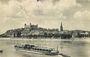 Slovakia Bratislava Danube view Postcard