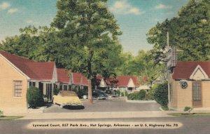 HOT SPRINGS, Lynwood Court, Arkansas, 30-40s