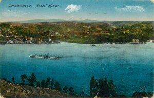 Istanbul Turkey Constantinople Anadol Hissar 1934