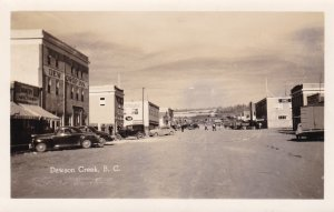 RP: DAWSON CREEK , B.C. , Canada , 1947 ; Main Street