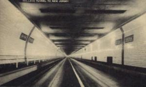 Holland Tunnel to New Jersey Jersey City NJ 1928
