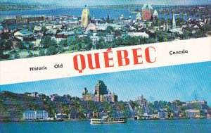Canada Historic Old Quebec Multi View