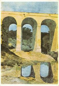 Vintage 1969 Art Postcard, Chirk Viaduct by John Sell Cotman 85S