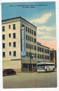 2198 TX El Paso  s GREYHOUND Bus Depot