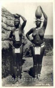 African Beauties African Nude Post Card Post Card  African Beauties