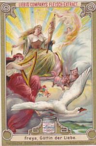 Liebei S0412 Scandinavian Mythology C Freya Goettin der Liebe