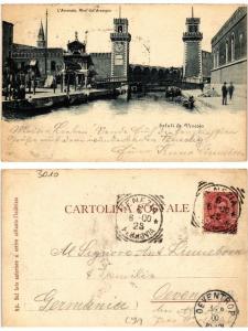 CPA VERONA Saluti da Venezia . ITALY (493106)
