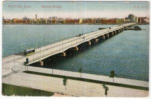 Boston, Mass, Harvard Bridge