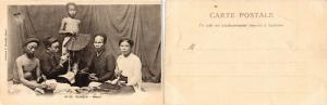 CPA INDO-CHINE VIETNAM Tonkin, Repas (428098)