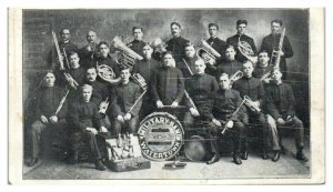 Watertown Military Band, Second Annual Concert & Dance, Watertown, WI Postcard