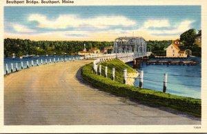 Maine Southport The Southport Bridge