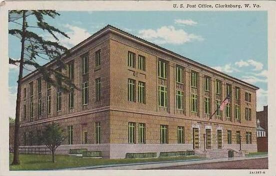 West Virginia Clarksburg U S Post Office