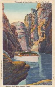 Cathedral of the Rainbow God, Lake Mead Boulder Dam Recreational Area,Color...