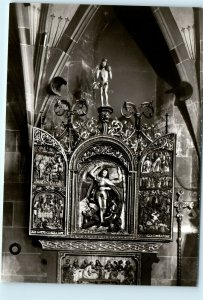 Schwabisch Hall St. Michaeliskirche St. Michaels Germany 4x6 Photo Postcard E04