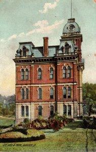 Ohio Warren City Hall and Park 1911 Rotograph