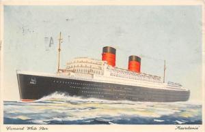 R.M.S.  Mauretania,  Cunard White Star