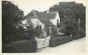 Scandinavia house real photo postcard