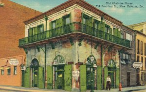 USA Old Absinthe House Bourbon St New Orleans 03.82