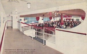 Edgewater Beach Yacht Club Edgewater Beach Hotel Chicago Illinois 1937