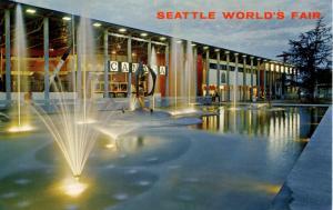 WA - Seattle, 1962. Seattle World's Fair (Century 21 Exposition). Canadian Ex...