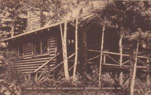 One Of The Cabins At Sprucewold Boothbay Harbor Maine