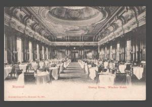 090858 CANADA Montreal Dining room Windsor Hotel Vintage PC
