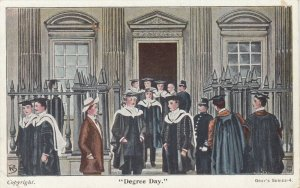 CAMBRIDGE, England, 1900-10s ; DEgree Day