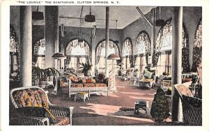 The Lounge Clifton Springs, New York Postcard