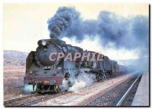 Postcard Modern Locomotora de vapor