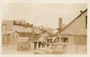 RP: KODIAK , Alaska , 1940s ; Main Street