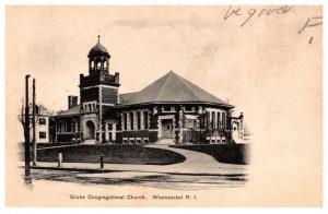 Rhode Island  Woonsocket , Globe Congregational Church