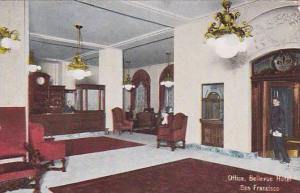 Interior, Office, Bellevue Hotel, San Francisco, California, 00-10s