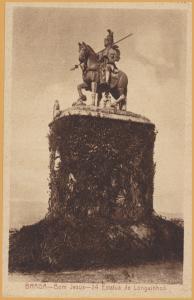 Portugal, Braga-Braga-Bom Jesus- 24 Estatua de Longuinhos