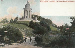 Thuringen. Eisenach. Das Burschenschaftsdenkmal , Germany , 1900