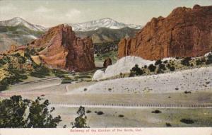 Colorado Gateway Of The Garden Of The Gods